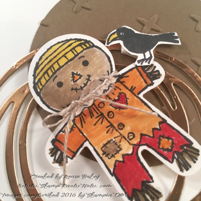 Cookie Cutter Scarecrow