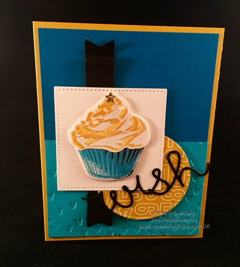 Image of cupcake from Stampin' UP