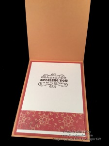 Image of Carousel Birthday Card Inside