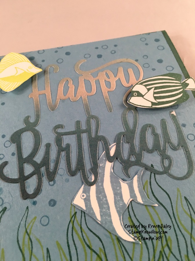 Seaside Shore Birthday Card